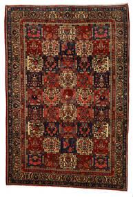 Bakhtiar Collectible Matto 217X318 Itämainen Käsinsolmittu Tummanruskea/Tummanpunainen (Villa, Persia/Iran)