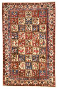 Bakhtiar Collectible Matto 203X323 Itämainen Käsinsolmittu Tummanpunainen/Musta (Villa, Persia/Iran)