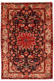 Nahavand Old Matto 155X226 Itämainen Käsinsolmittu Ruoste/Tummanpunainen (Villa, Persia/Iran)