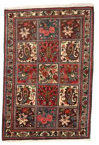 Bakhtiar Collectible Matto 108X158 Itämainen Käsinsolmittu Tummanruskea/Tummanpunainen (Villa, Persia/Iran)
