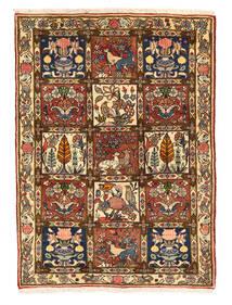 Bakhtiar Collectible Matto 109X149 Itämainen Käsinsolmittu Tummanruskea/Ruskea (Villa, Persia/Iran)