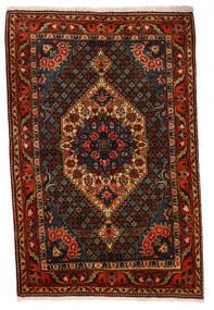 Bakhtiar Collectible Matto 107X160 Itämainen Käsinsolmittu Tummanruskea/Tummanpunainen (Villa, Persia/Iran)