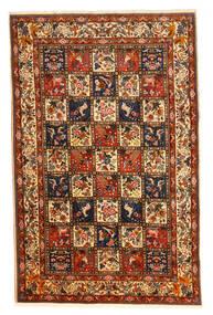 Bakhtiar Collectible Matto 210X323 Itämainen Käsinsolmittu Tummanruskea/Tummanpunainen (Villa, Persia/Iran)