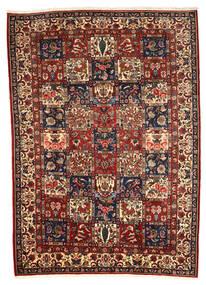 Bakhtiar Collectible Matto 208X290 Itämainen Käsinsolmittu Tummanruskea/Vaaleanruskea (Villa, Persia/Iran)