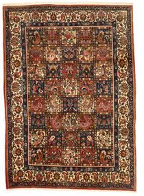 Bakhtiar Collectible Matto 206X290 Itämainen Käsinsolmittu Tummanruskea/Punainen (Villa, Persia/Iran)