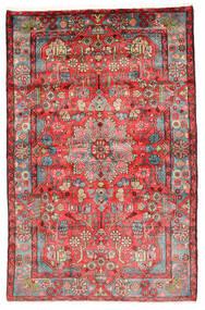 Nahavand Old Matto 154X241 Itämainen Käsinsolmittu Tummanpunainen/Ruoste (Villa, Persia/Iran)