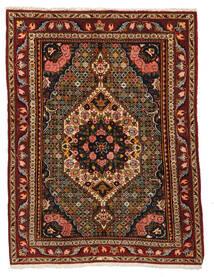 Bakhtiar Collectible Matto 105X138 Itämainen Käsinsolmittu Tummanpunainen/Tummanruskea (Villa, Persia/Iran)