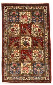 Bakhtiar Collectible Matto 105X168 Itämainen Käsinsolmittu Tummanruskea/Tummanpunainen (Villa, Persia/Iran)