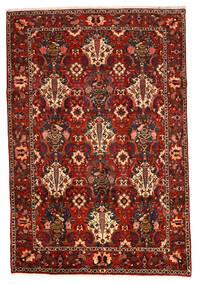 Bakhtiar Collectible Matto 207X307 Itämainen Käsinsolmittu Tummanruskea/Ruoste/Tummanpunainen (Villa, Persia/Iran)