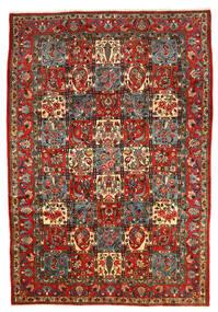 Bakhtiar Collectible Matto 206X303 Itämainen Käsinsolmittu Tummanharmaa/Tummanpunainen (Villa, Persia/Iran)