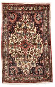 Bakhtiar Collectible Matto 105X165 Itämainen Käsinsolmittu Tummanruskea/Beige (Villa, Persia/Iran)
