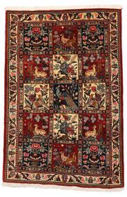 Bakhtiar Collectible Matto 106X152 Itämainen Käsinsolmittu Tummanruskea/Tummanpunainen (Villa, Persia/Iran)
