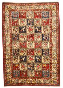 Bakhtiar Collectible Matto 216X316 Itämainen Käsinsolmittu Tummanruskea/Tummanpunainen (Villa, Persia/Iran)