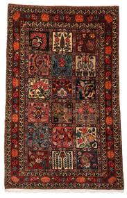 Bakhtiar Collectible Matto 100X161 Itämainen Käsinsolmittu Tummanpunainen/Tummanruskea (Villa, Persia/Iran)