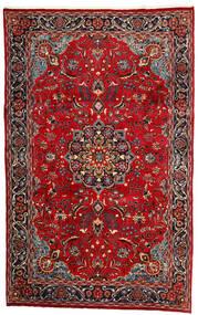 Mashad Matto 190X308 Itämainen Käsinsolmittu Tummanpunainen/Tummanruskea (Villa, Persia/Iran)