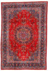 Mashad Matto 198X295 Itämainen Käsinsolmittu Tummanpunainen/Ruoste (Villa, Persia/Iran)