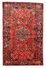Nahavand Old Matto 158X245 Itämainen Käsinsolmittu Tummanpunainen/Punainen (Villa, Persia/Iran)
