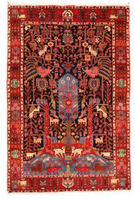 Nahavand Old Matto 165X247 Itämainen Käsinsolmittu Tummanpunainen/Beige (Villa, Persia/Iran)