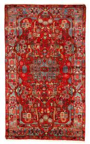 Nahavand Old Matto 157X260 Itämainen Käsinsolmittu Tummanpunainen/Ruoste (Villa, Persia/Iran)