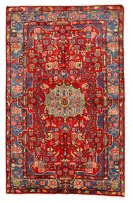 Nahavand Old Matto 158X247 Itämainen Käsinsolmittu Tummanpunainen/Ruoste (Villa, Persia/Iran)