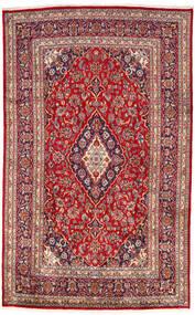 Keshan Matto 193X303 Itämainen Käsinsolmittu Tummanpunainen/Ruoste (Villa, Persia/Iran)
