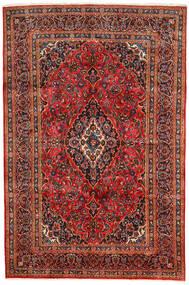 Keshan Matto 190X290 Itämainen Käsinsolmittu Tummanruskea/Ruoste (Villa, Persia/Iran)