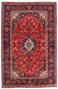 Keshan Matto 194X301 Itämainen Käsinsolmittu Tummanpunainen/Tummanvioletti (Villa, Persia/Iran)