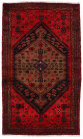 Zanjan Matto 124X209 Itämainen Käsinsolmittu Tummanruskea/Tummanpunainen (Villa, Persia/Iran)