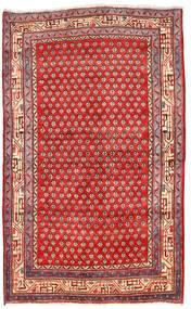 Arak Matto 125X205 Itämainen Käsinsolmittu Tummanpunainen/Punainen (Villa, Persia/Iran)
