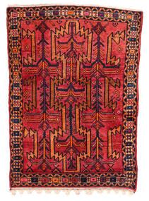Koliai Matto 130X180 Itämainen Käsinsolmittu Tummanpunainen/Ruoste (Villa, Persia/Iran)