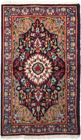 Kerman Matto 92X158 Itämainen Käsinsolmittu (Villa, Persia/Iran)