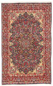 Kerman Matto 147X240 Itämainen Käsinsolmittu Tummanharmaa/Ruoste (Villa, Persia/Iran)