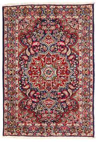 Kerman Matto 123X180 Itämainen Käsinsolmittu Tummanvioletti/Ruoste (Villa, Persia/Iran)