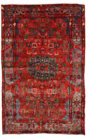 Nahavand Old Matto 154X264 Itämainen Käsinsolmittu Tummanpunainen/Ruoste (Villa, Persia/Iran)