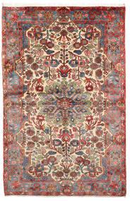 Nahavand Old Matto 152X236 Itämainen Käsinsolmittu Vaaleanruskea/Tummanruskea (Villa, Persia/Iran)