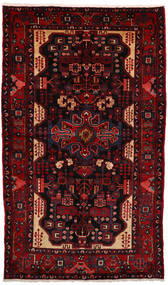 Nahavand Matto 163X270 Itämainen Käsinsolmittu Tummanpunainen (Villa, Persia/Iran)