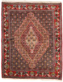 Senneh Matto 125X155 Itämainen Käsinsolmittu (Villa, Persia/Iran)