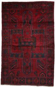 Lori Matto 158X250 Itämainen Käsinsolmittu Tummanpunainen/Punainen (Villa, Persia/Iran)