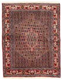 Senneh Matto 115X148 Itämainen Käsinsolmittu Tummanruskea/Tummanpunainen (Villa, Persia/Iran)