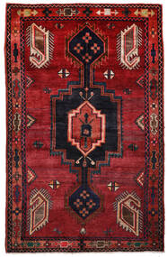 Kurdi Matto 148X233 Itämainen Käsinsolmittu Tummanpunainen/Musta (Villa, Persia/Iran)