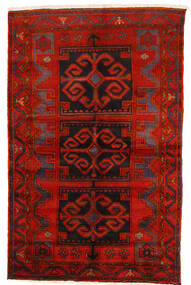 Zanjan Matto 145X228 Itämainen Käsinsolmittu Tummanpunainen/Ruoste/Tummanruskea (Villa, Persia/Iran)