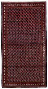Arak Matto 158X296 Itämainen Käsinsolmittu Käytävämatto Tummanpunainen (Villa, Persia/Iran)