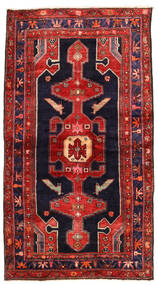 Koliai Matto 118X212 Itämainen Käsinsolmittu Ruoste/Tummanvioletti (Villa, Persia/Iran)