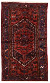 Zanjan Matto 124X207 Itämainen Käsinsolmittu Tummanpunainen/Ruoste (Villa, Persia/Iran)