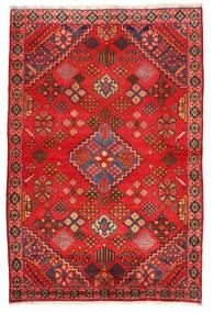 Hamadan Matto 131X198 Itämainen Käsinsolmittu Ruoste/Punainen (Villa, Persia/Iran)