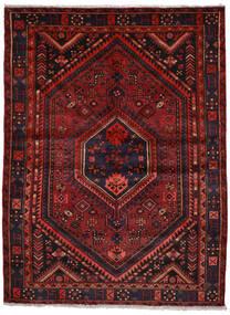 Zanjan Matto 155X206 Itämainen Käsinsolmittu Tummanpunainen (Villa, Persia/Iran)