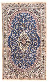 Nain Matto 120X203 Itämainen Käsinsolmittu Beige/Vaaleanharmaa (Villa, Persia/Iran)