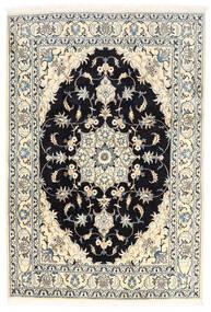 Nain Matto 170X250 Itämainen Käsinsolmittu Valkoinen/Creme/Musta (Villa, Persia/Iran)
