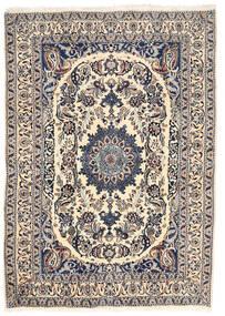 Nain Matto 162X228 Itämainen Käsinsolmittu Vaaleanharmaa/Beige (Villa, Persia/Iran)