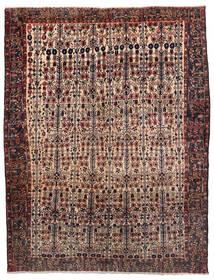 Afshar Matto 165X214 Itämainen Käsinsolmittu Tummanpunainen/Tummanruskea (Villa, Persia/Iran)